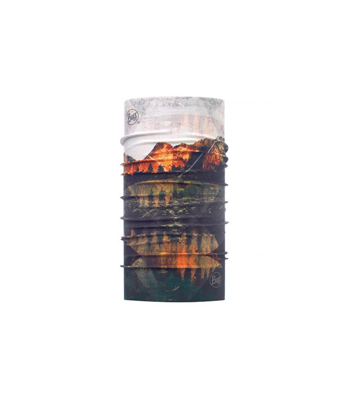 Buff imprimé montagne