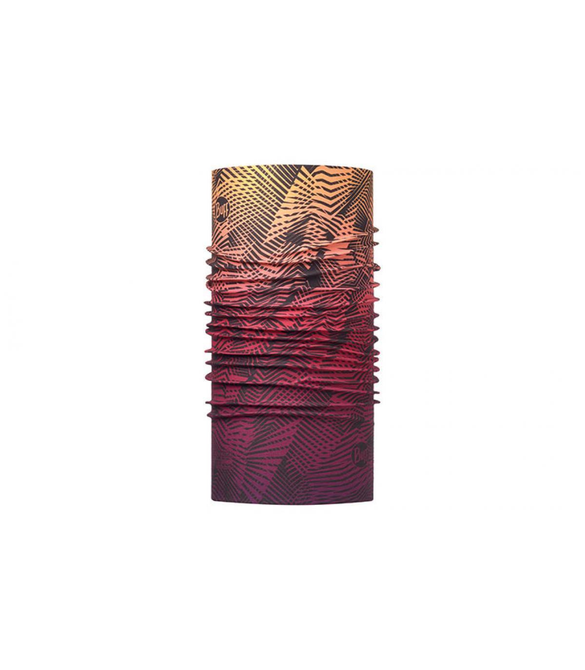 Buff imprimé dégradé violet
