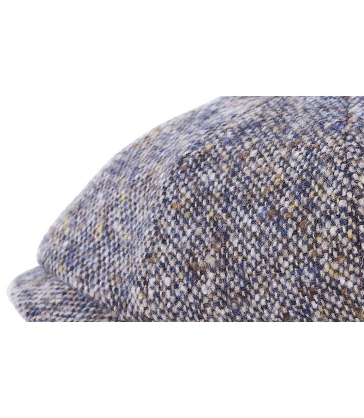 Détails Hatteras donegal laine bleu - image 2