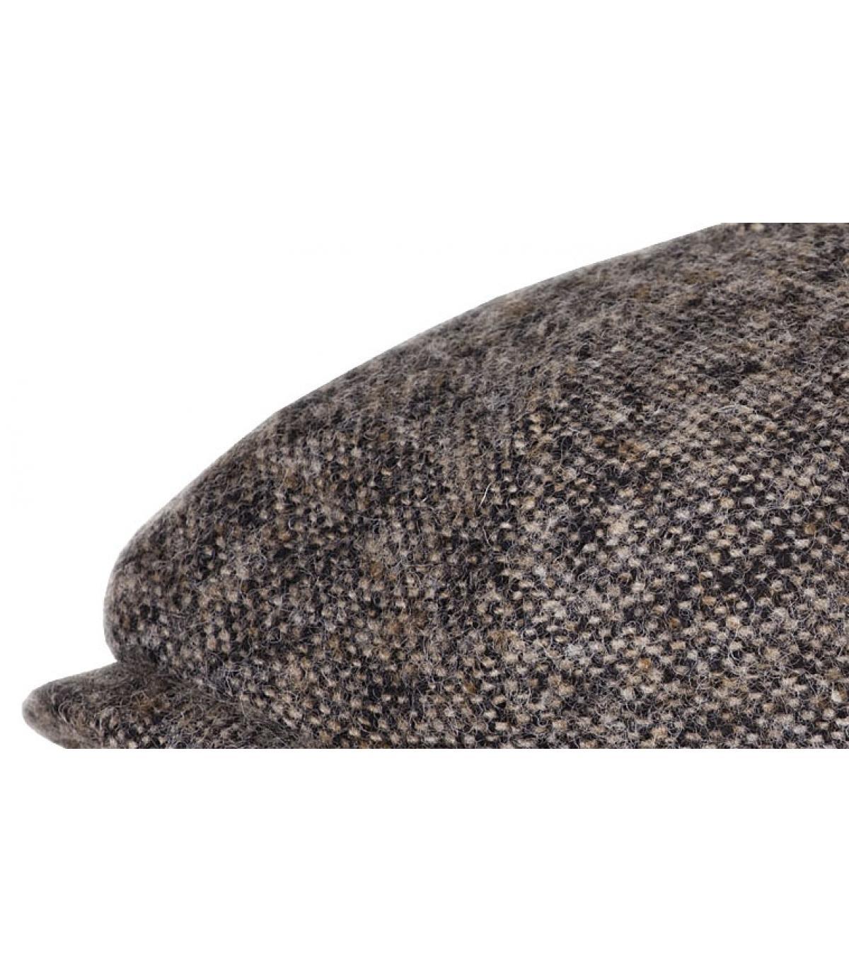 Casquette laine brute