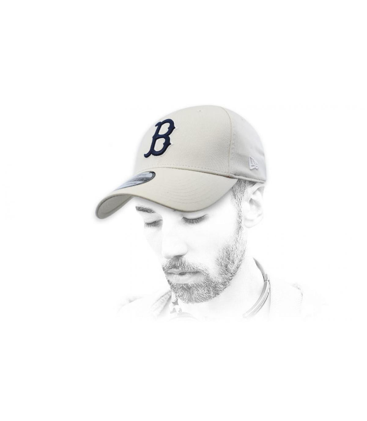 casquette B beige