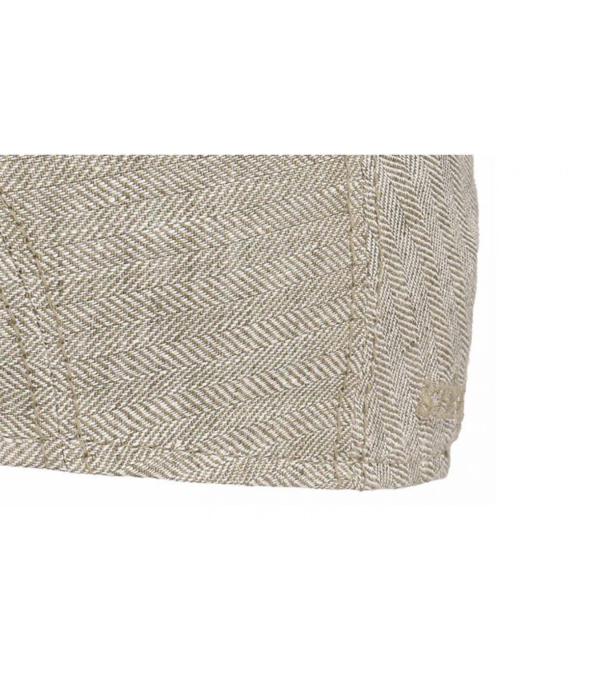 Détails Ivy cap lin beige - image 3