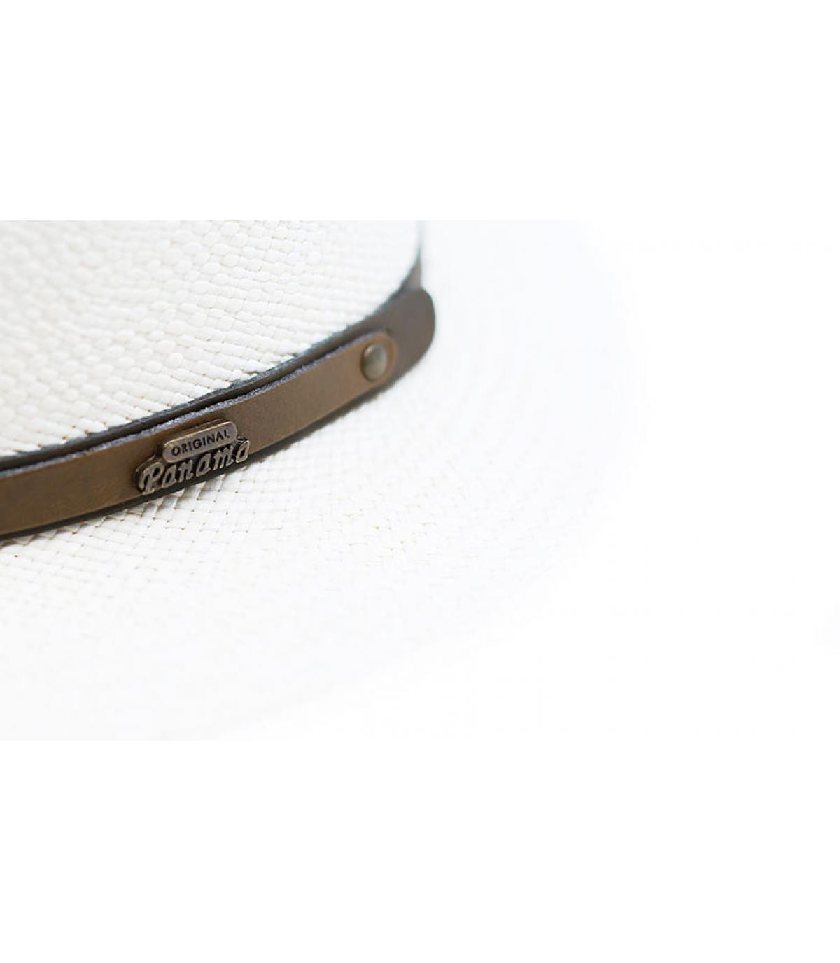 Détails James Panama Brisas Superieur blanchi - image 3