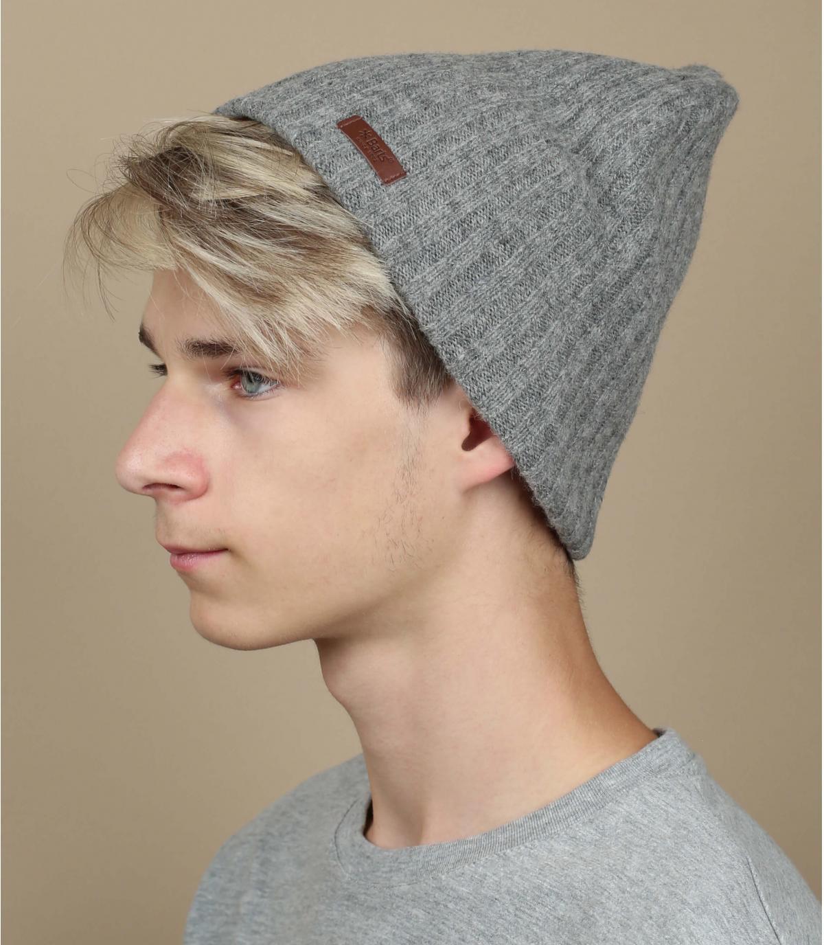 Bonnet haakon gris