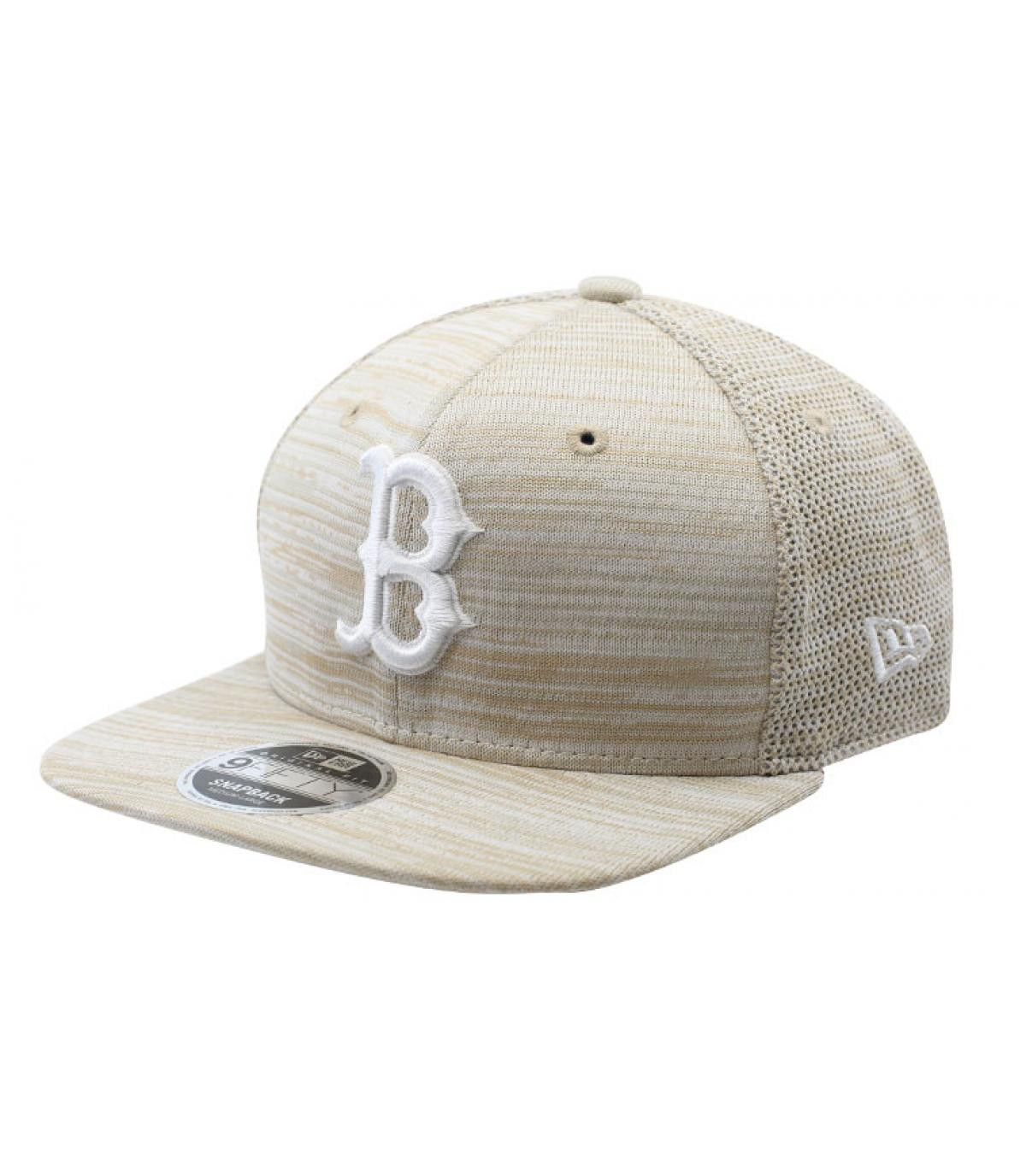 Détails Snapback Engineered Fit 9Fifty Boston stone white - image 2