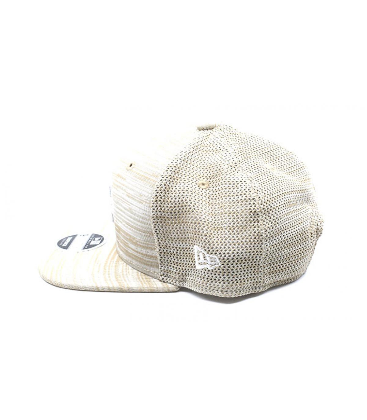 Détails Snapback Engineered Fit 9Fifty Boston stone white - image 4