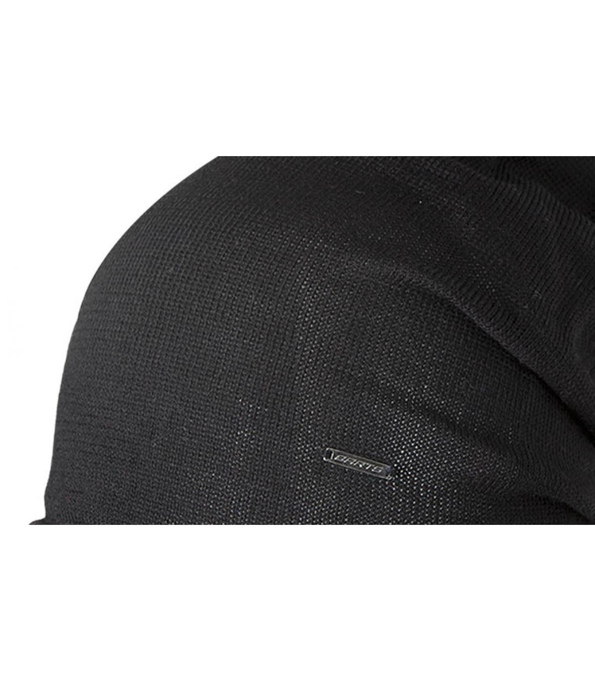 bonnet james noir