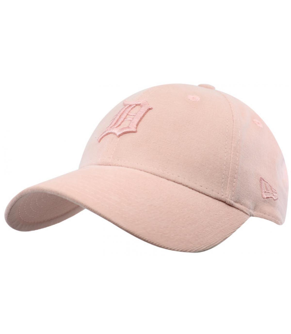 casquette Detroit rose femme