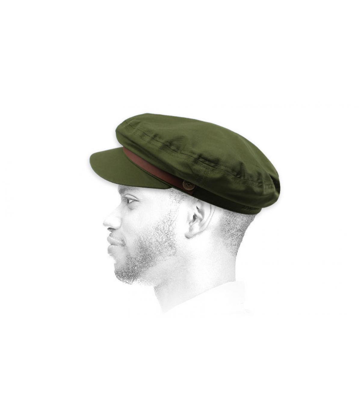 casquette marin olive Brixton