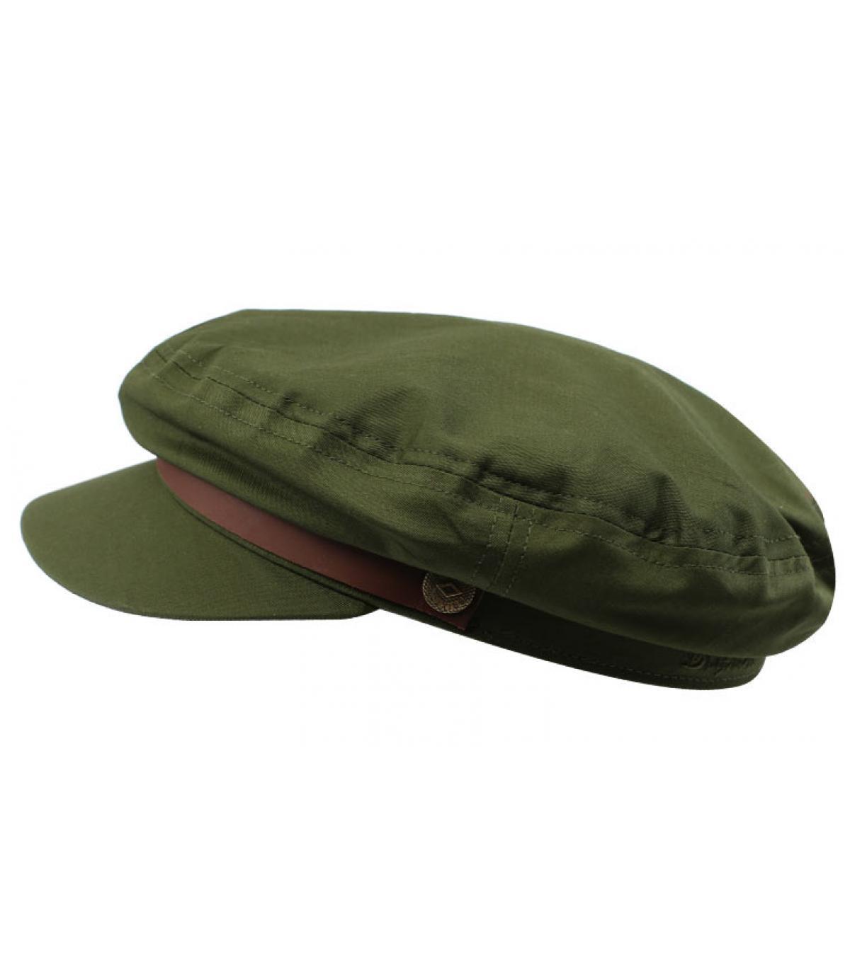 casquette marin femme olive