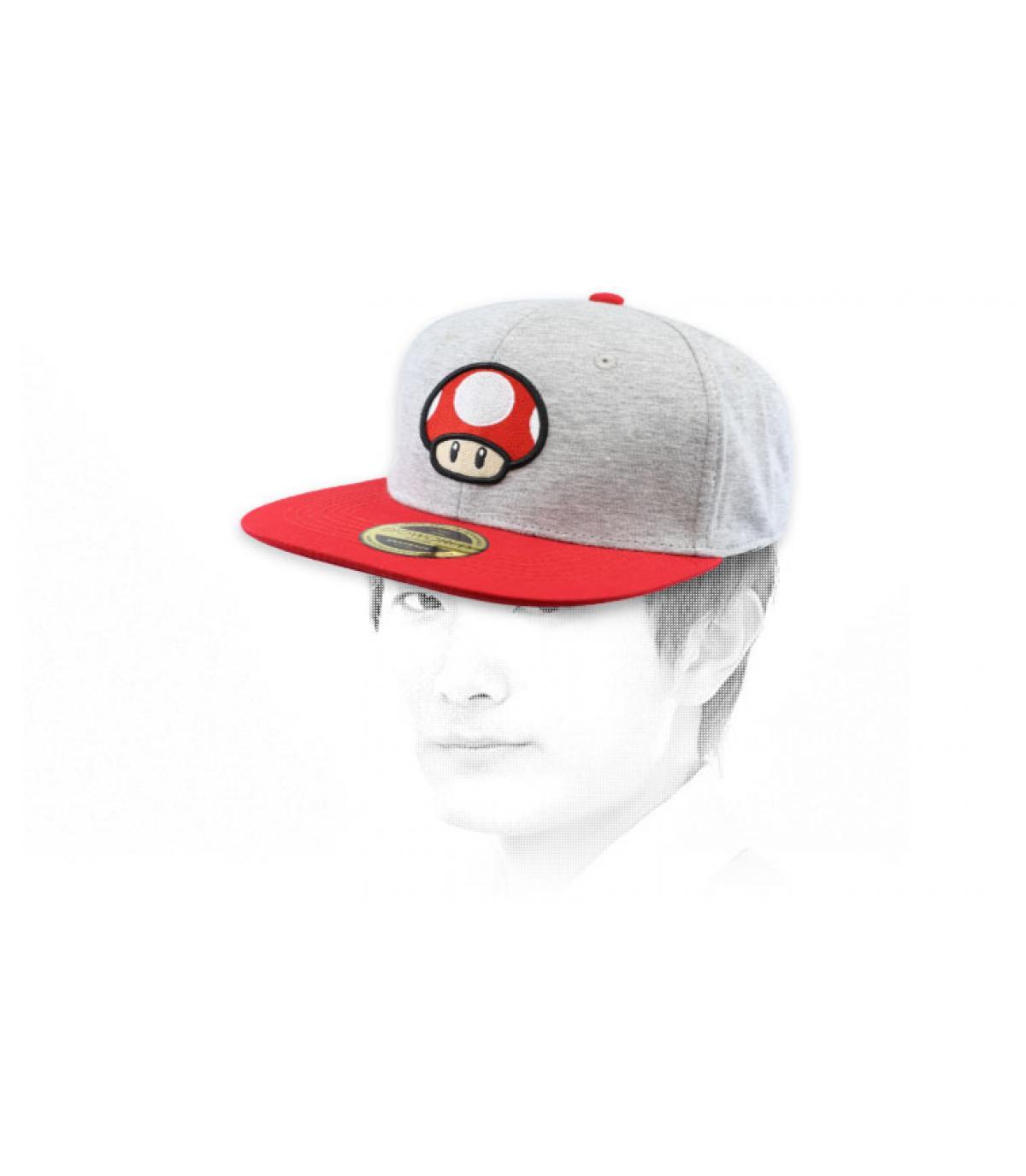snapback champignon Mario
