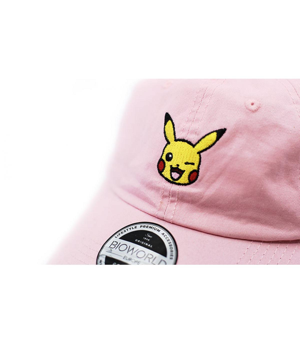 Détails Pikachu Dad Hat pink - image 3