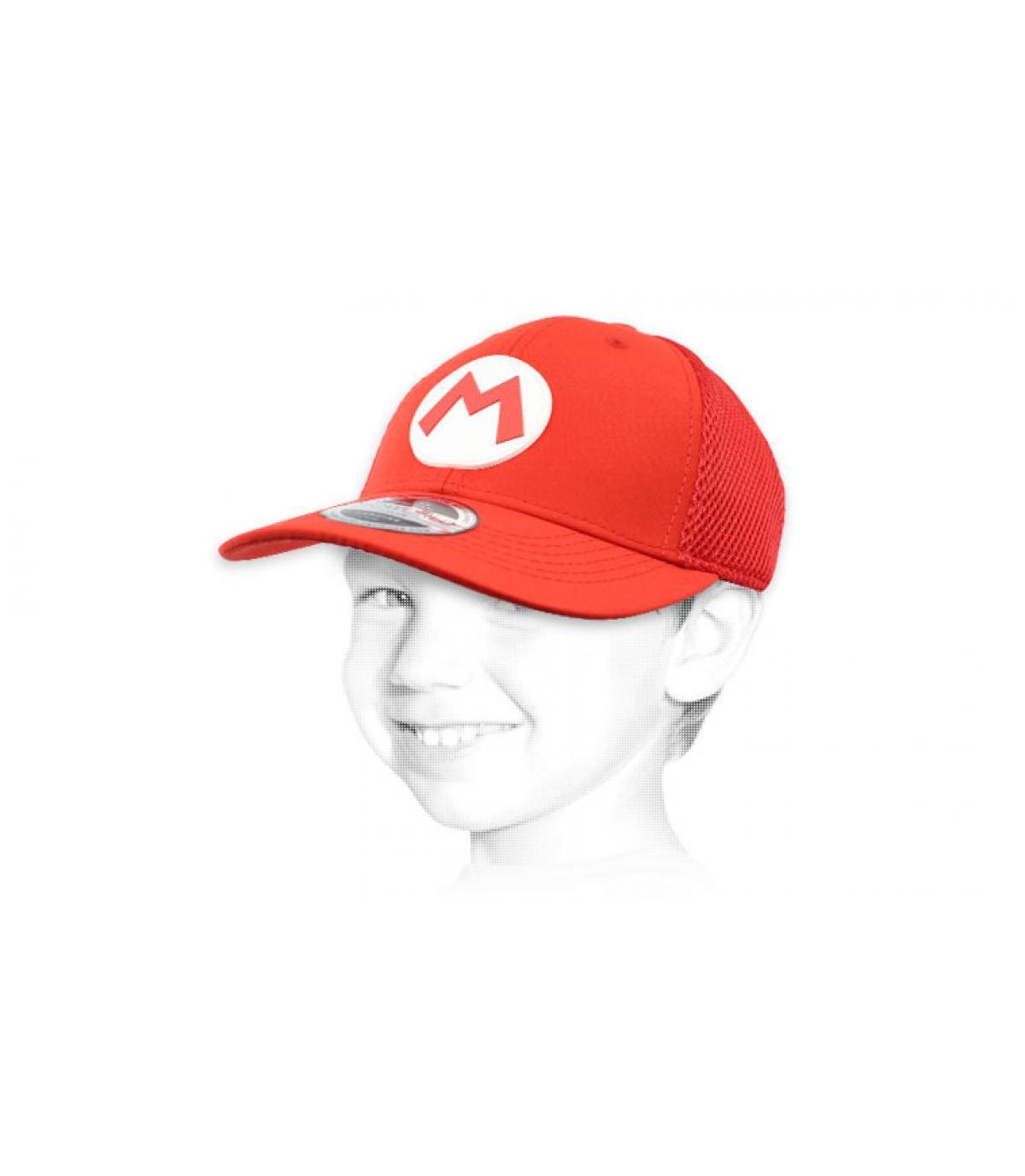 casquette Mario enfant