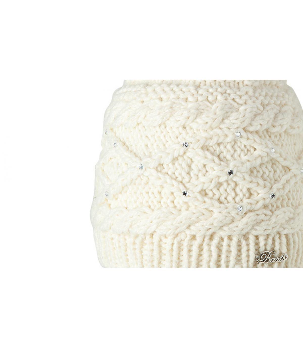 Bonnet claire blanc