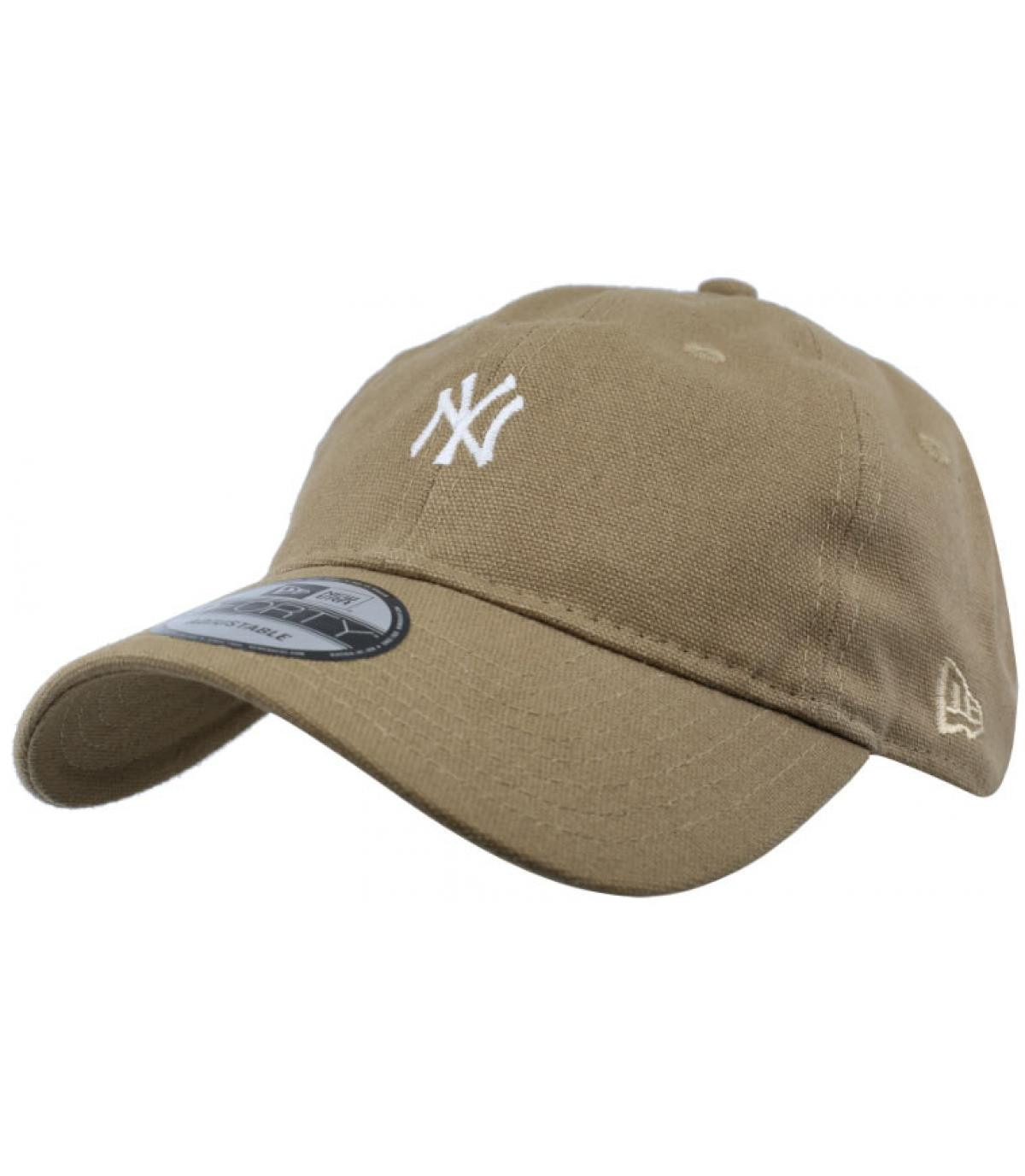 casquette NY camel