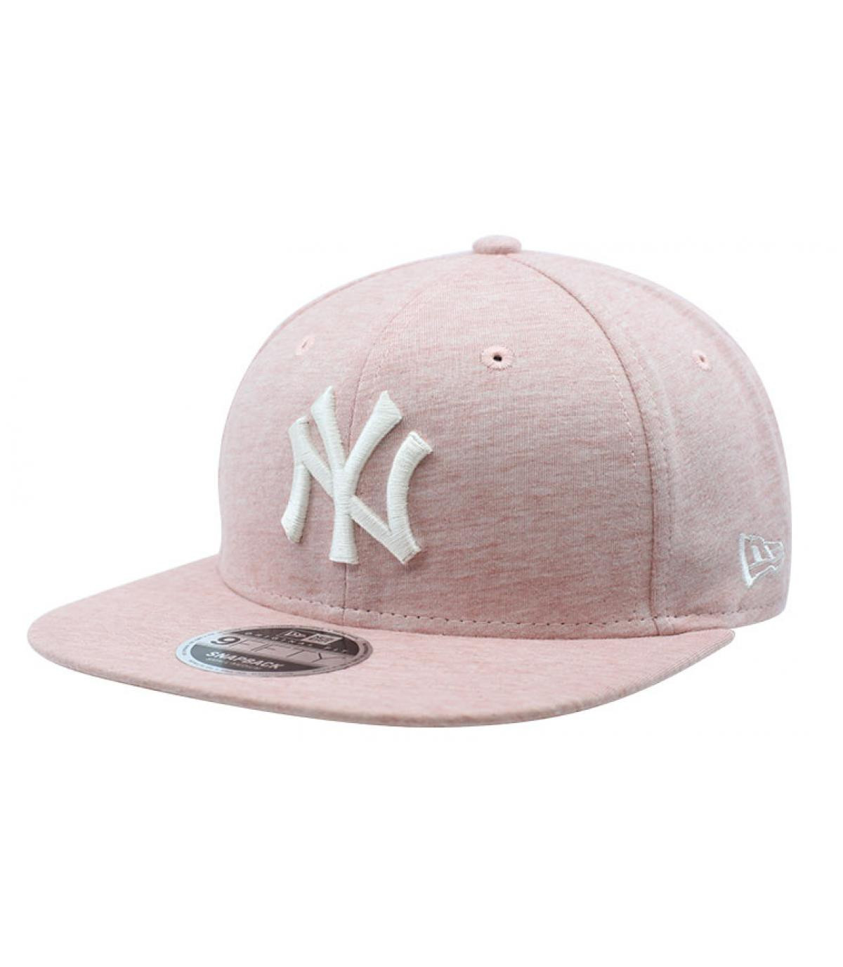 snapback NY rose pale