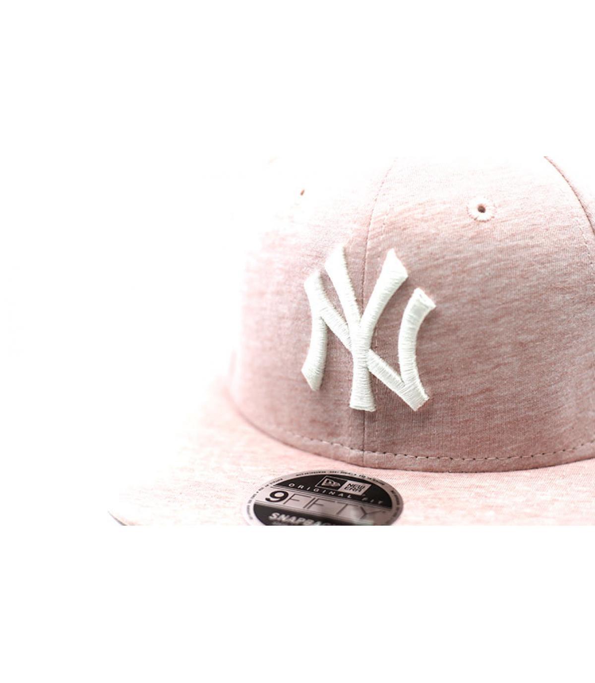 Détails Snapback Jersey Brights 9Fifty NY pink - image 3