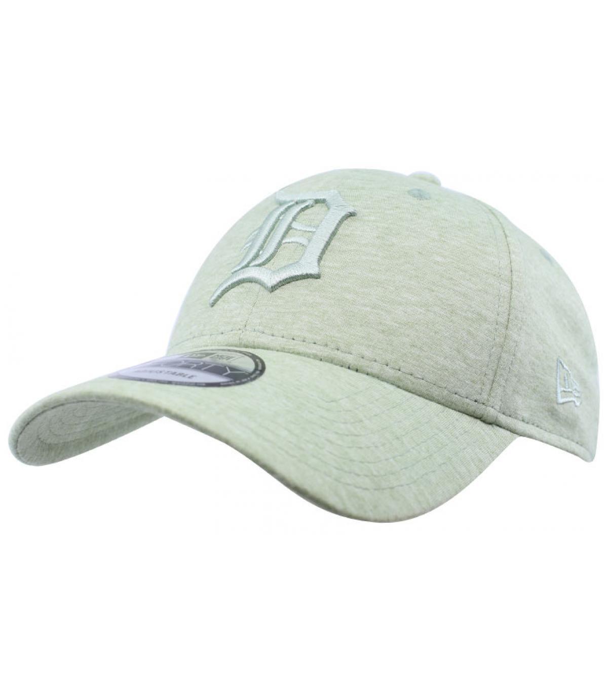 casquette D vert clair