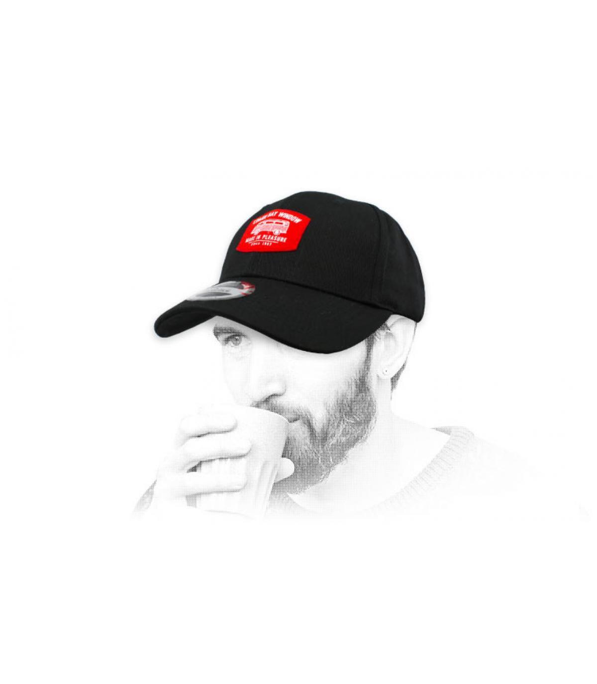 casquette van noir