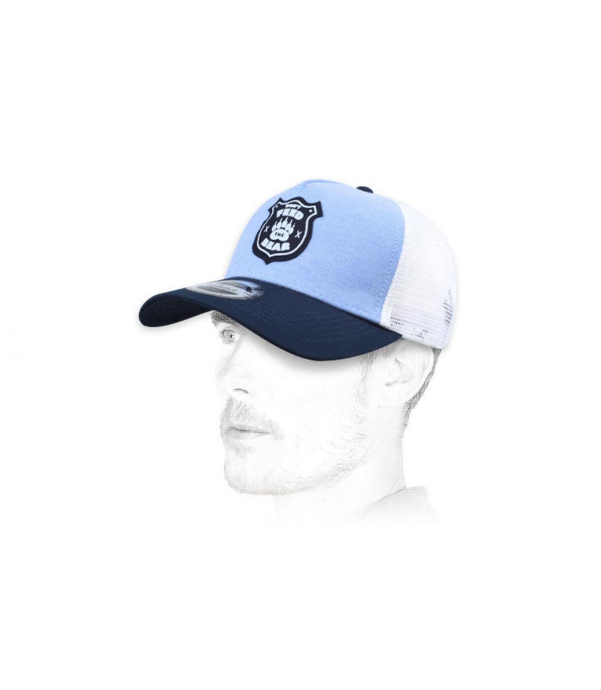 trucker bleu ours