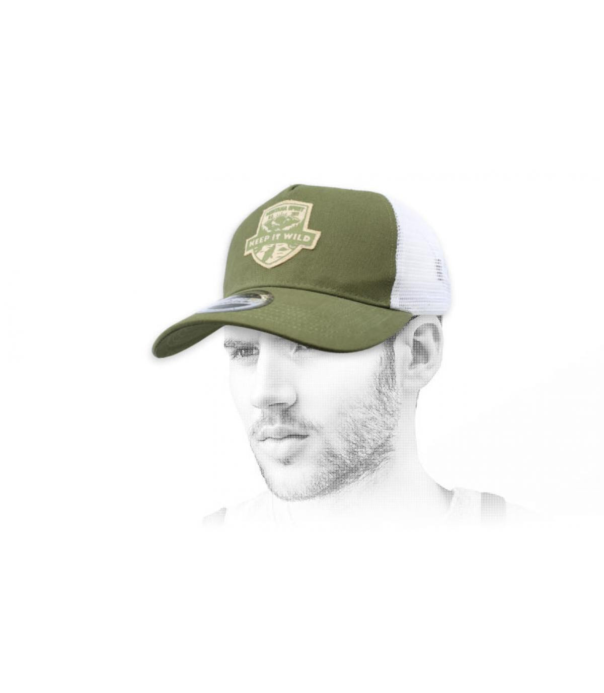 trucker vert Wild