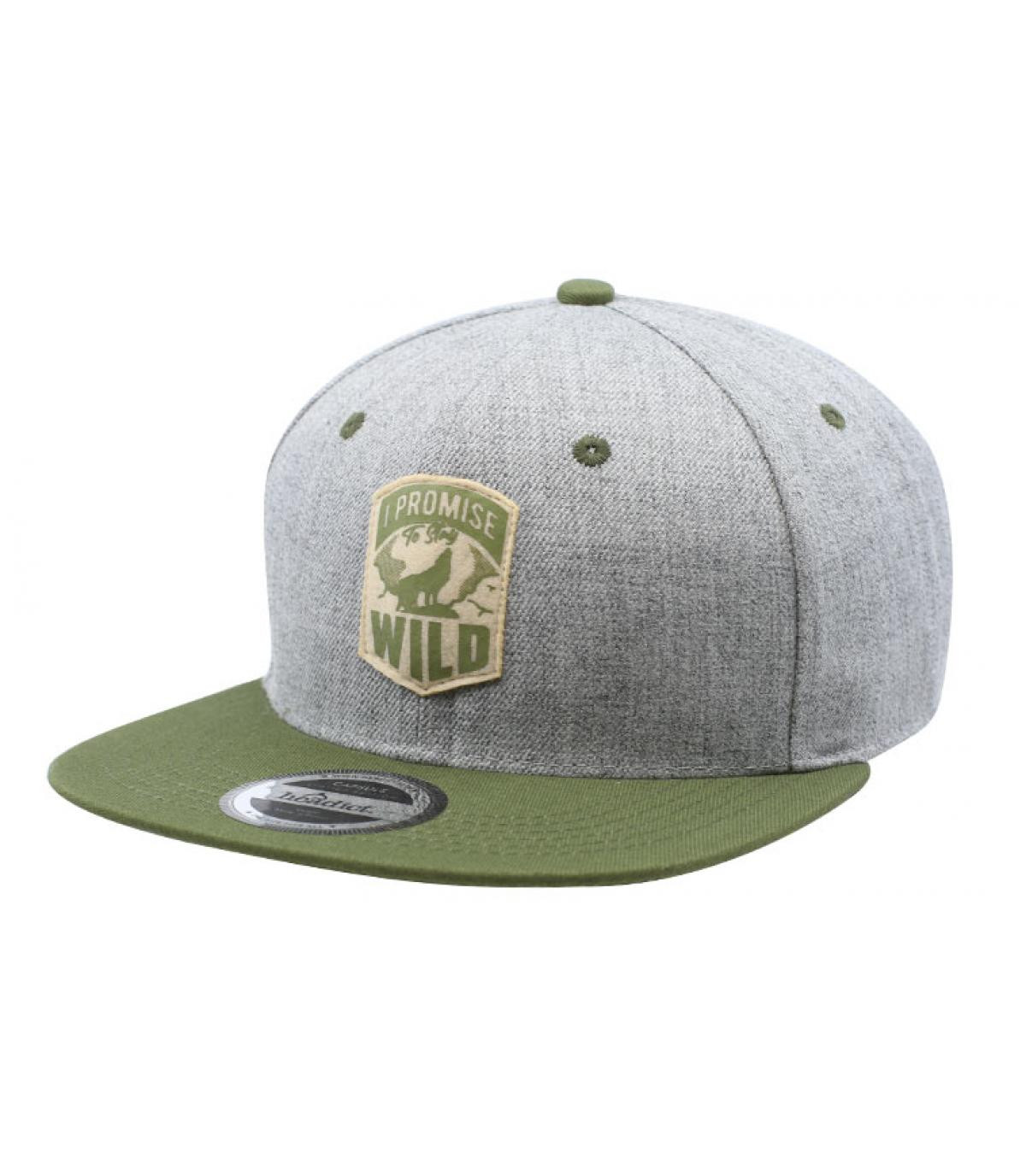 Détails Snapback I Promise to Stay Wild - image 2