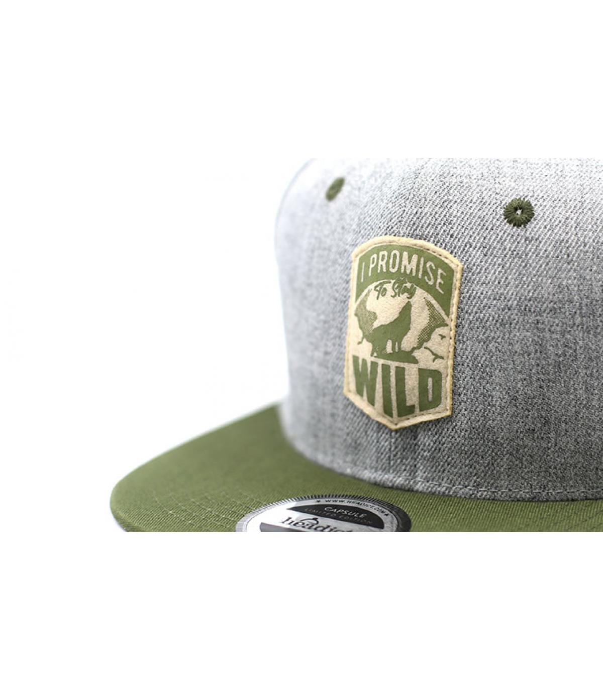 Détails Snapback I Promise to Stay Wild - image 3