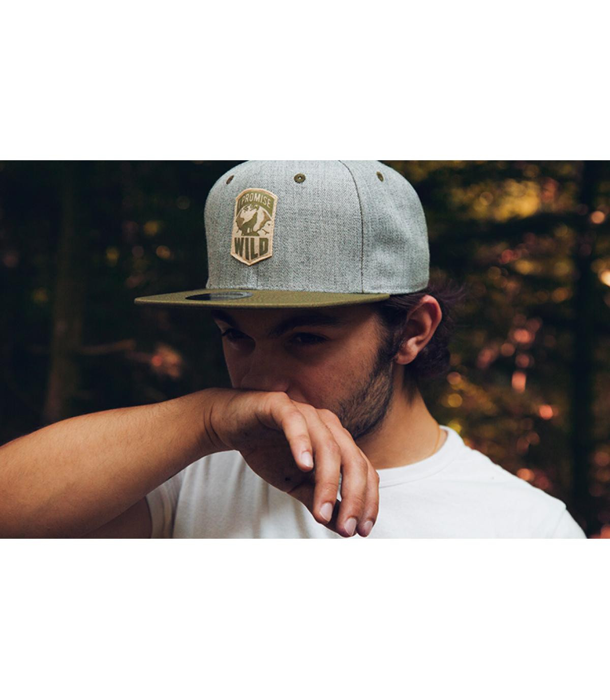 Détails Snapback I Promise to Stay Wild - image 4