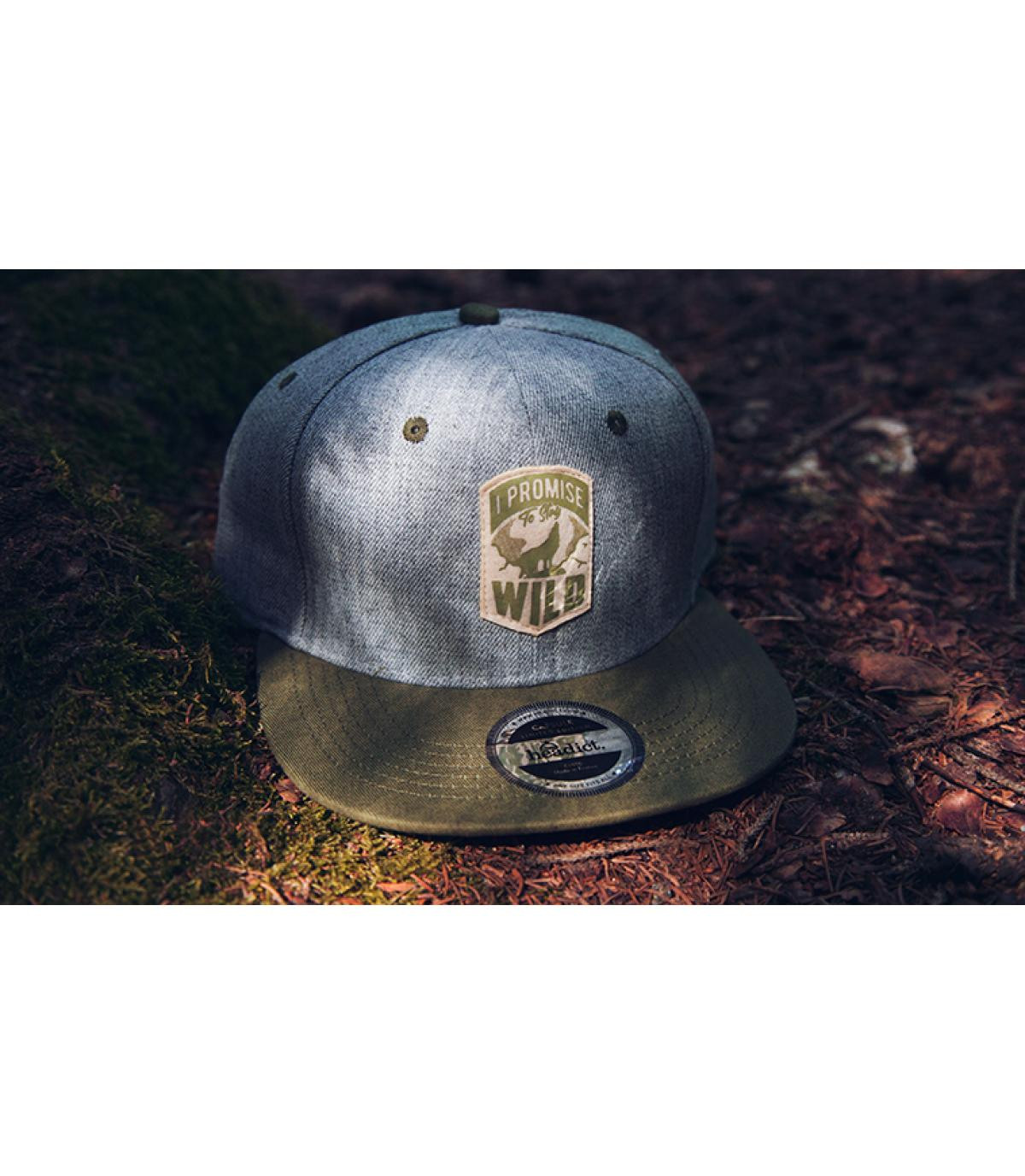 Détails Snapback I Promise to Stay Wild - image 5