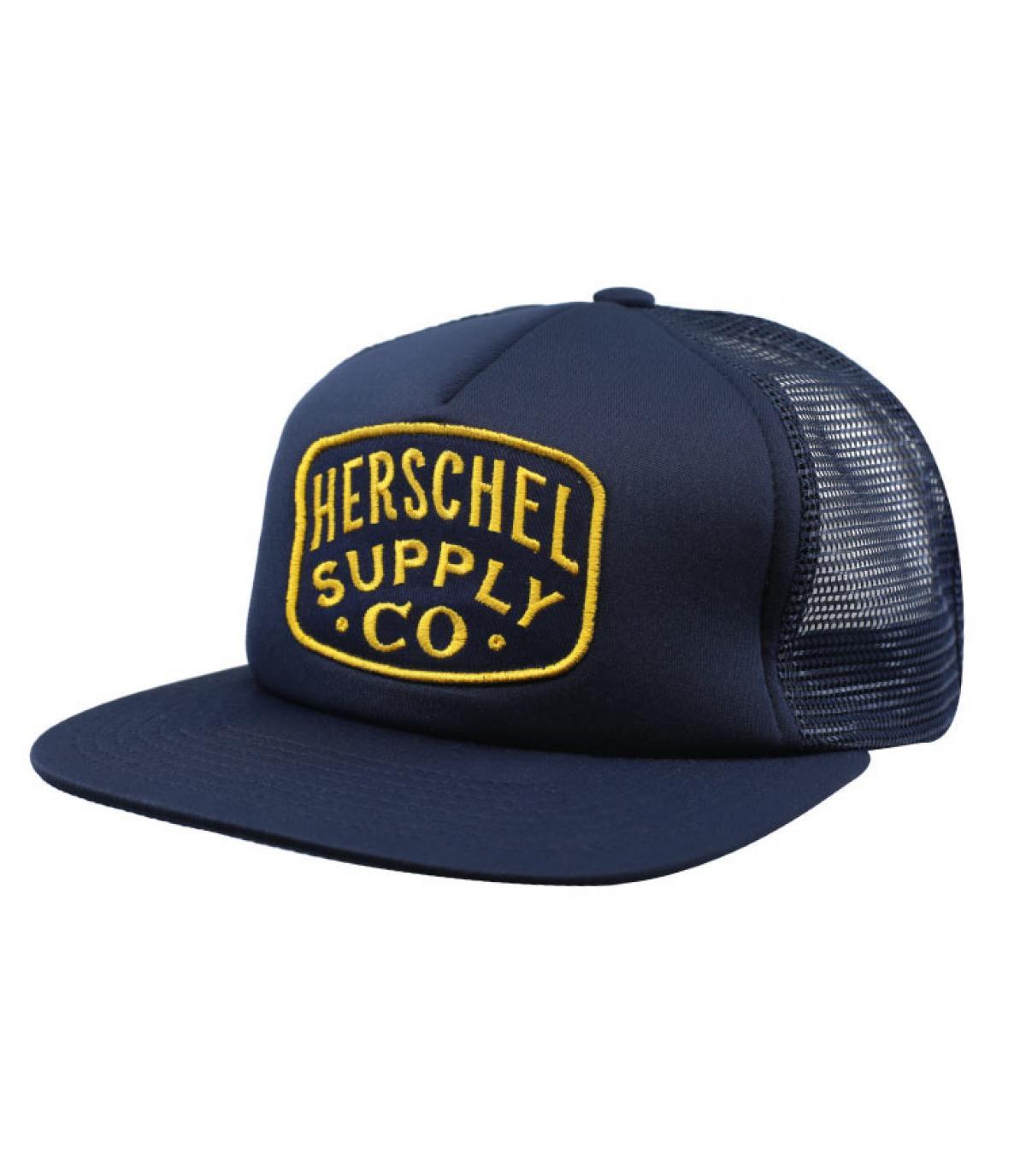 trucker Herschel bleu