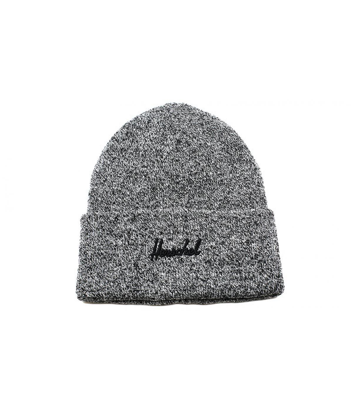 bonnet noir chiné Herschel