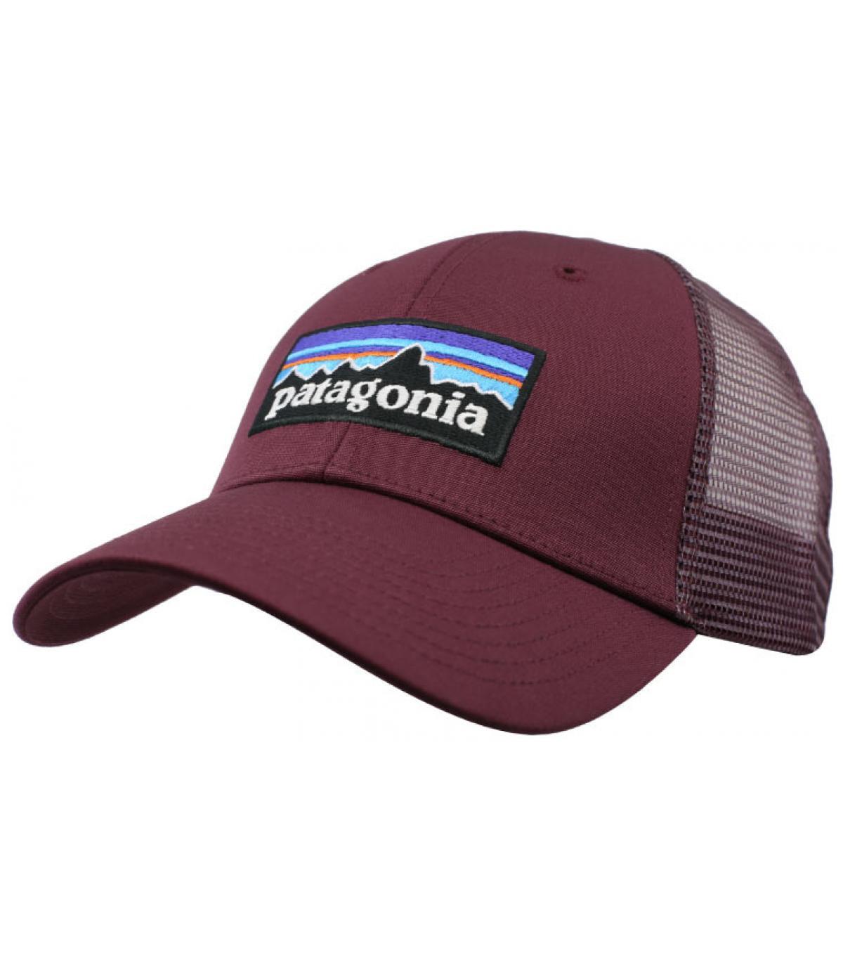 trucker Patagonia bordeaux