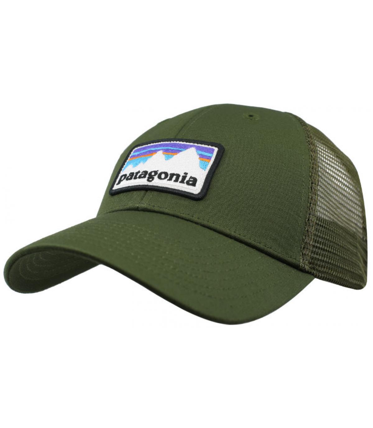 trucker Patagonia vert kaki