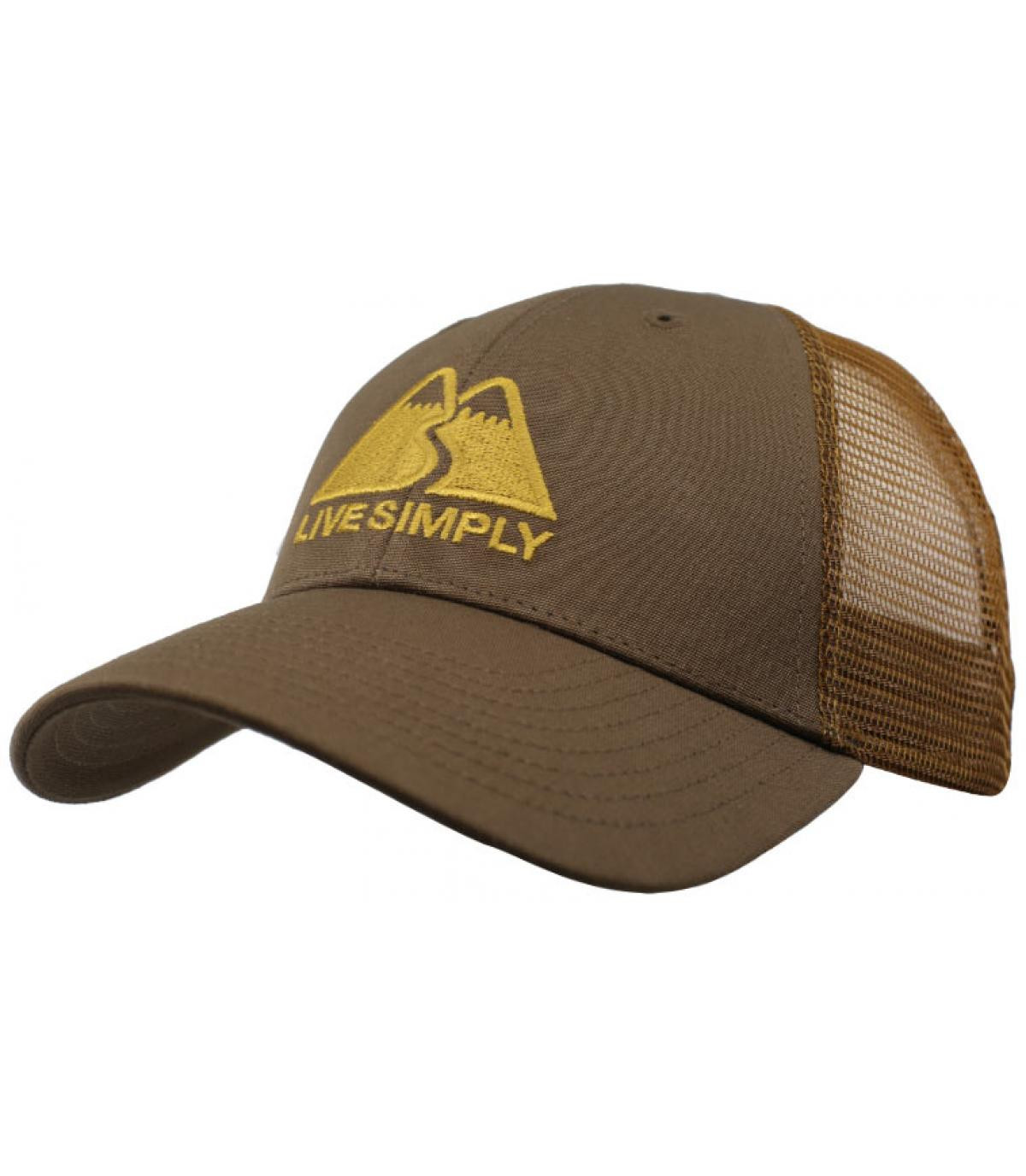 Détails Live Simply LoPro Trucker timber brown - image 2