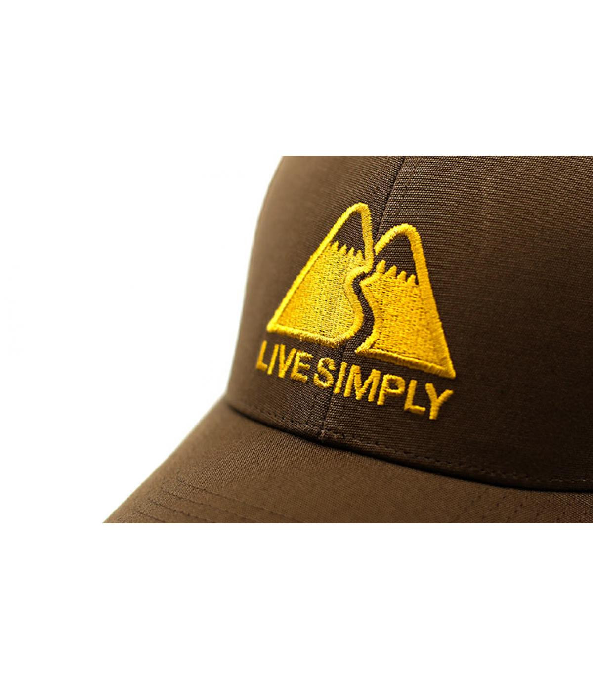 Détails Live Simply LoPro Trucker timber brown - image 3