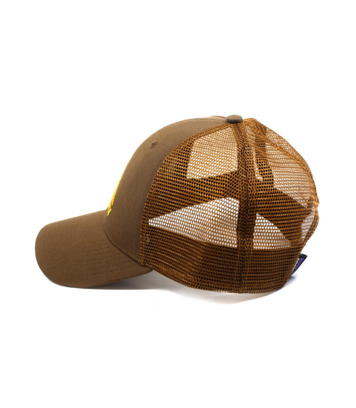 Détails Live Simply LoPro Trucker timber brown - image 4