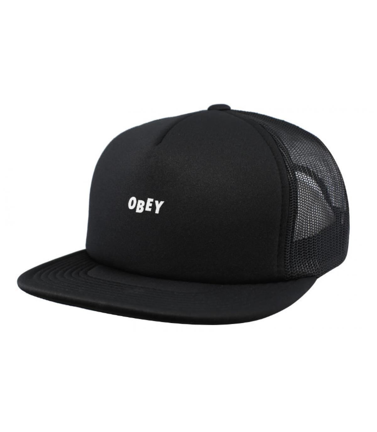trucker Obey noir