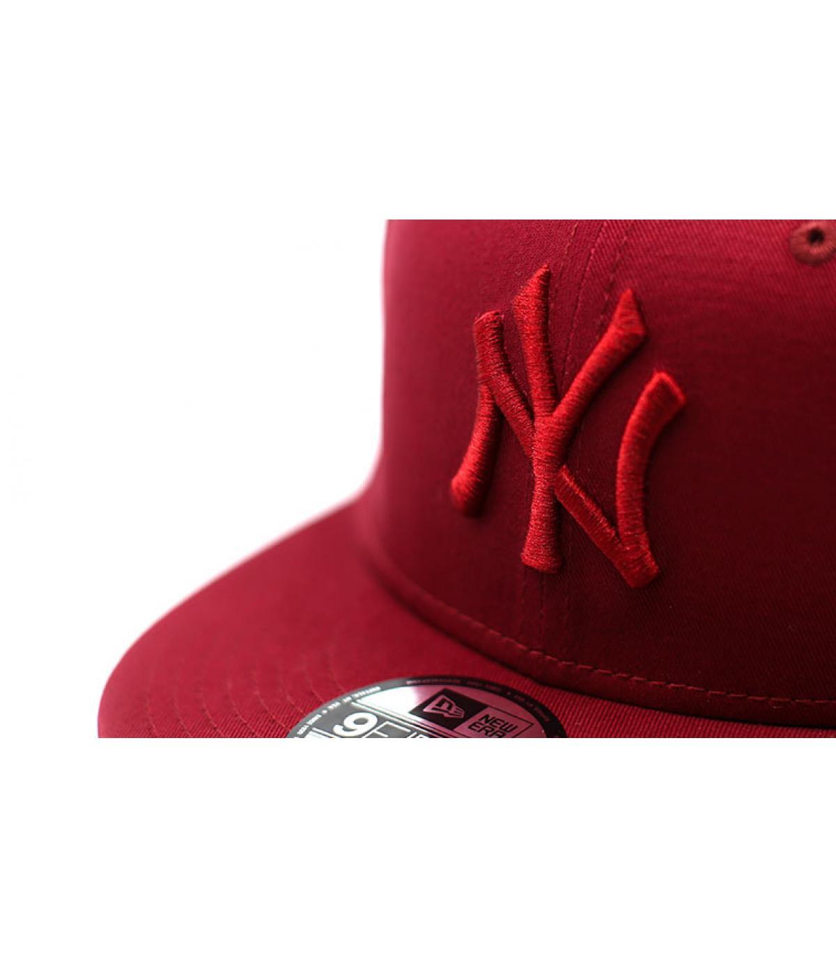 Détails Snapback League Ess 9Fifty NY cardinal - image 3