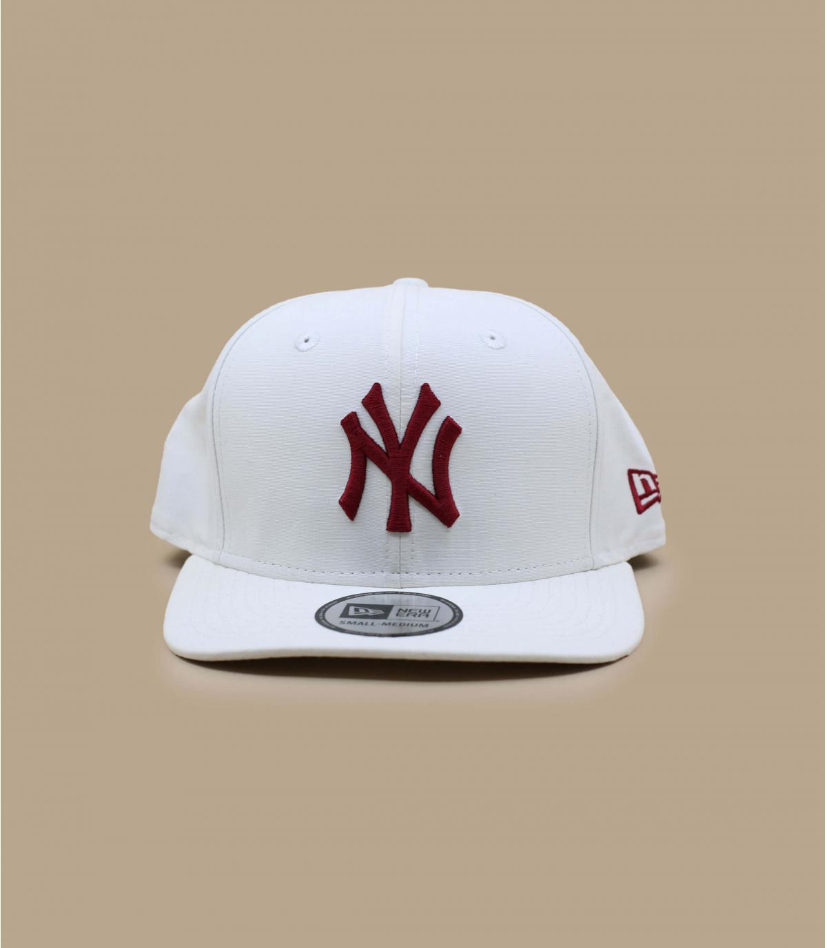 casquette NY blanc déperlant