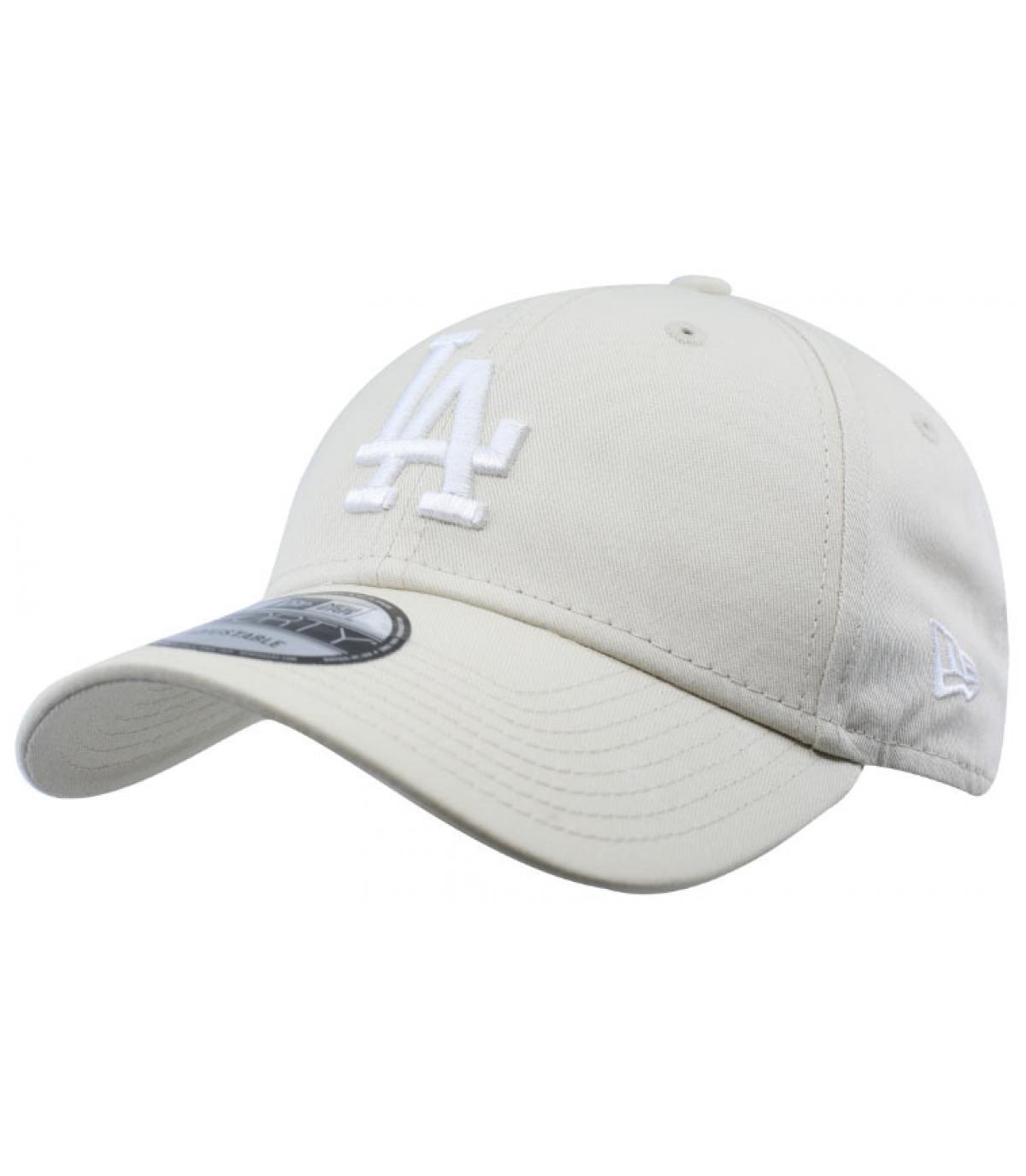 casquette LA blanc