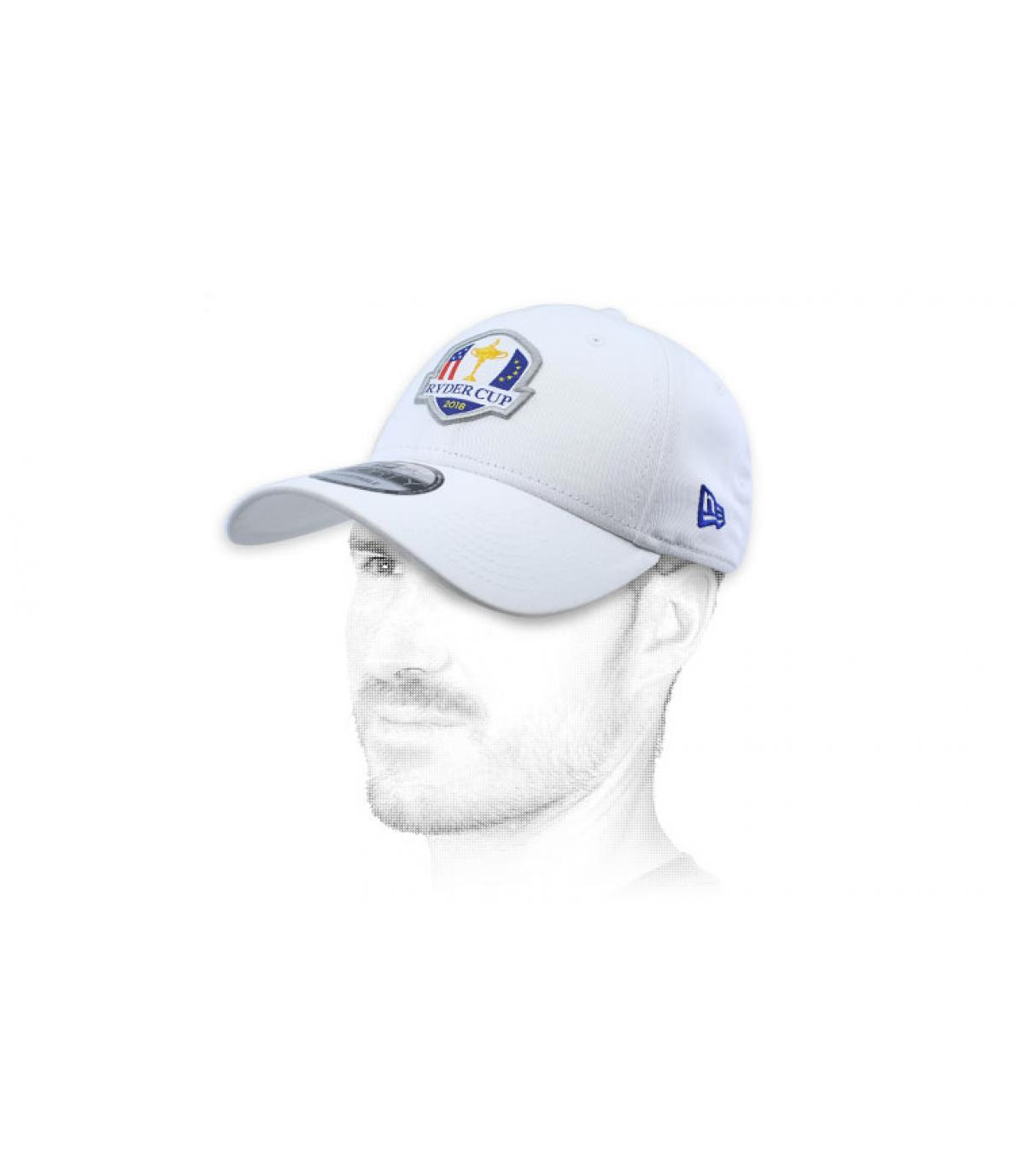 casquette golf Ryder Cup blanc