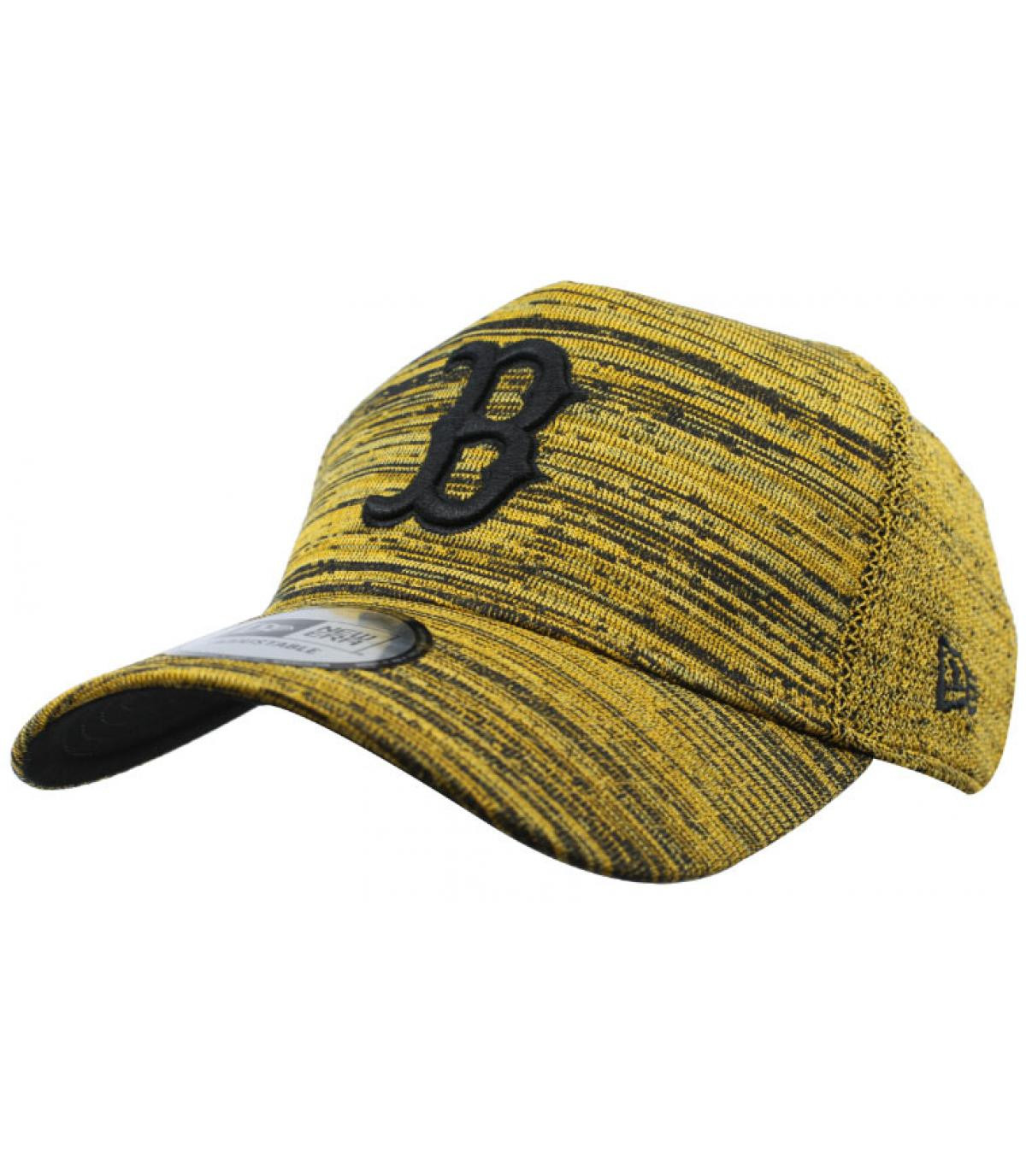 Détails Casquette Engineered Fit A Frame Boston yellow black - image 2