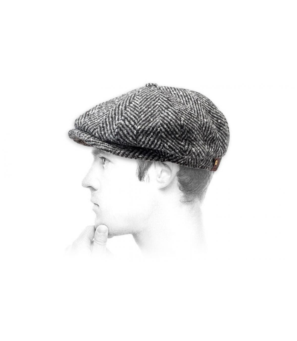 Détails Hatteras Herringbone black white - image 3