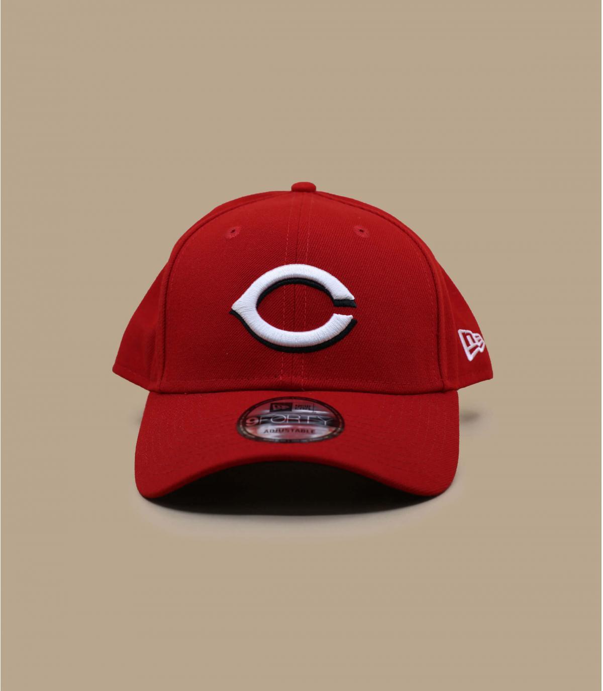 casquette C rouge