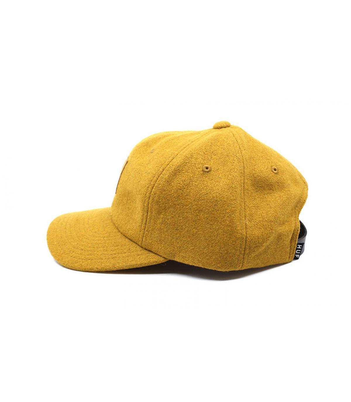 Détails Wool Box Logo mustard - image 4