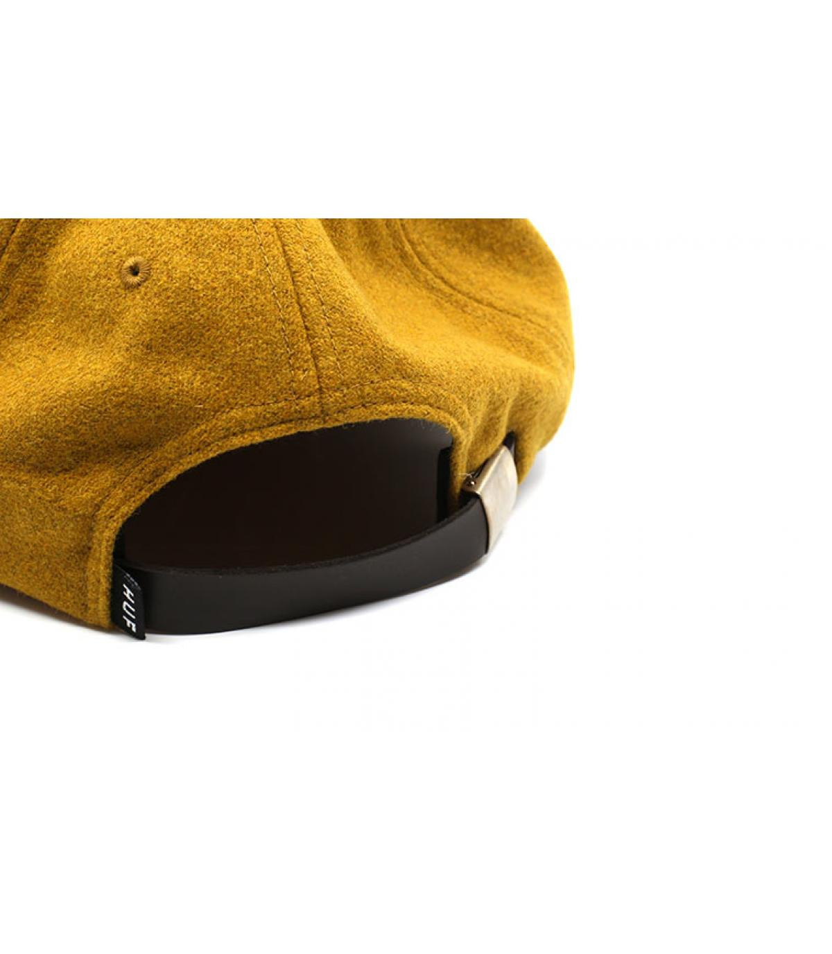 Détails Wool Box Logo mustard - image 5