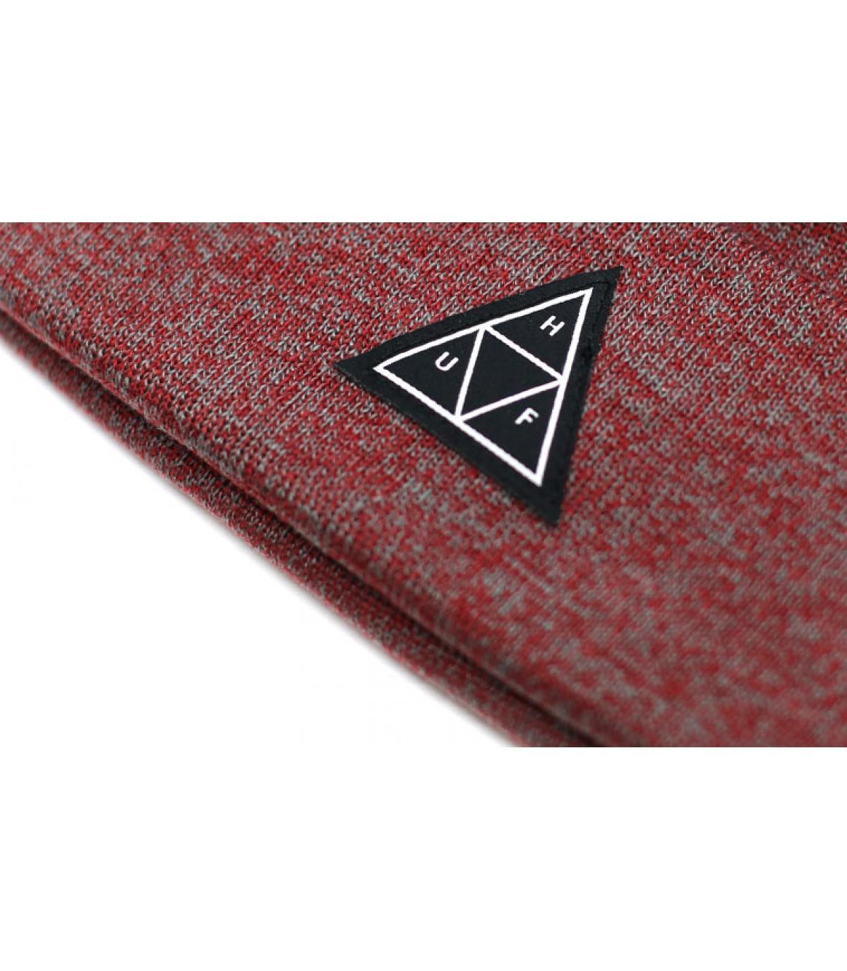 Détails Triple Triangle Beanie terra cotta - image 3