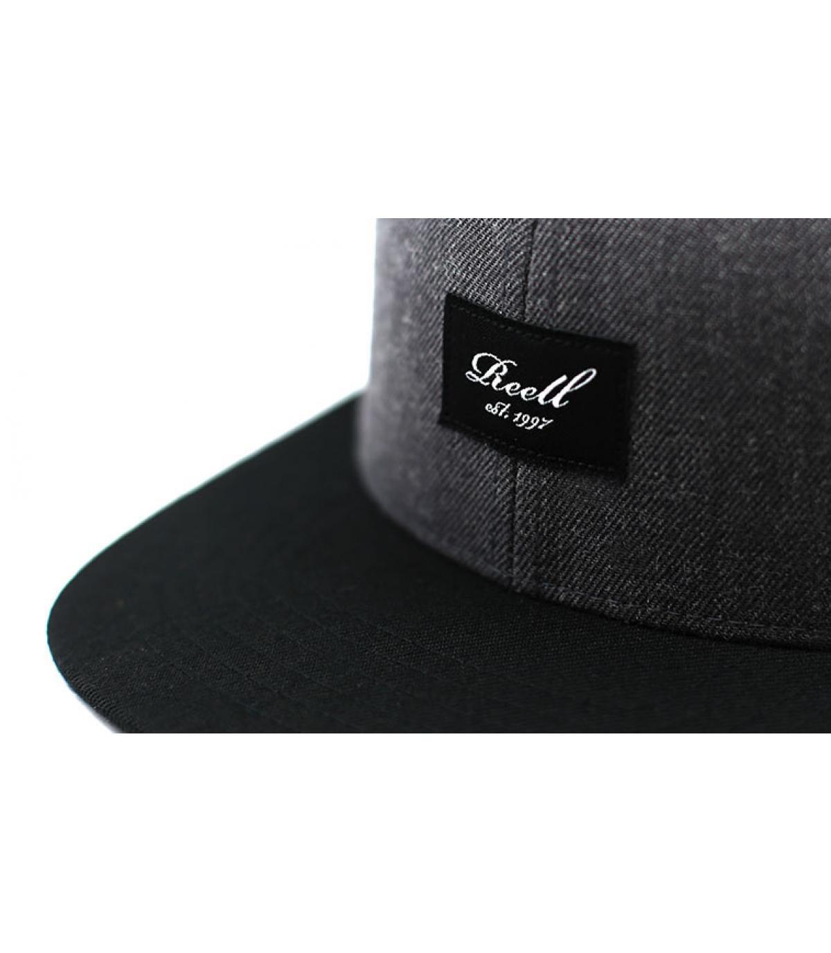 Détails Pitchout Cap 2 heather charcoal black - image 3