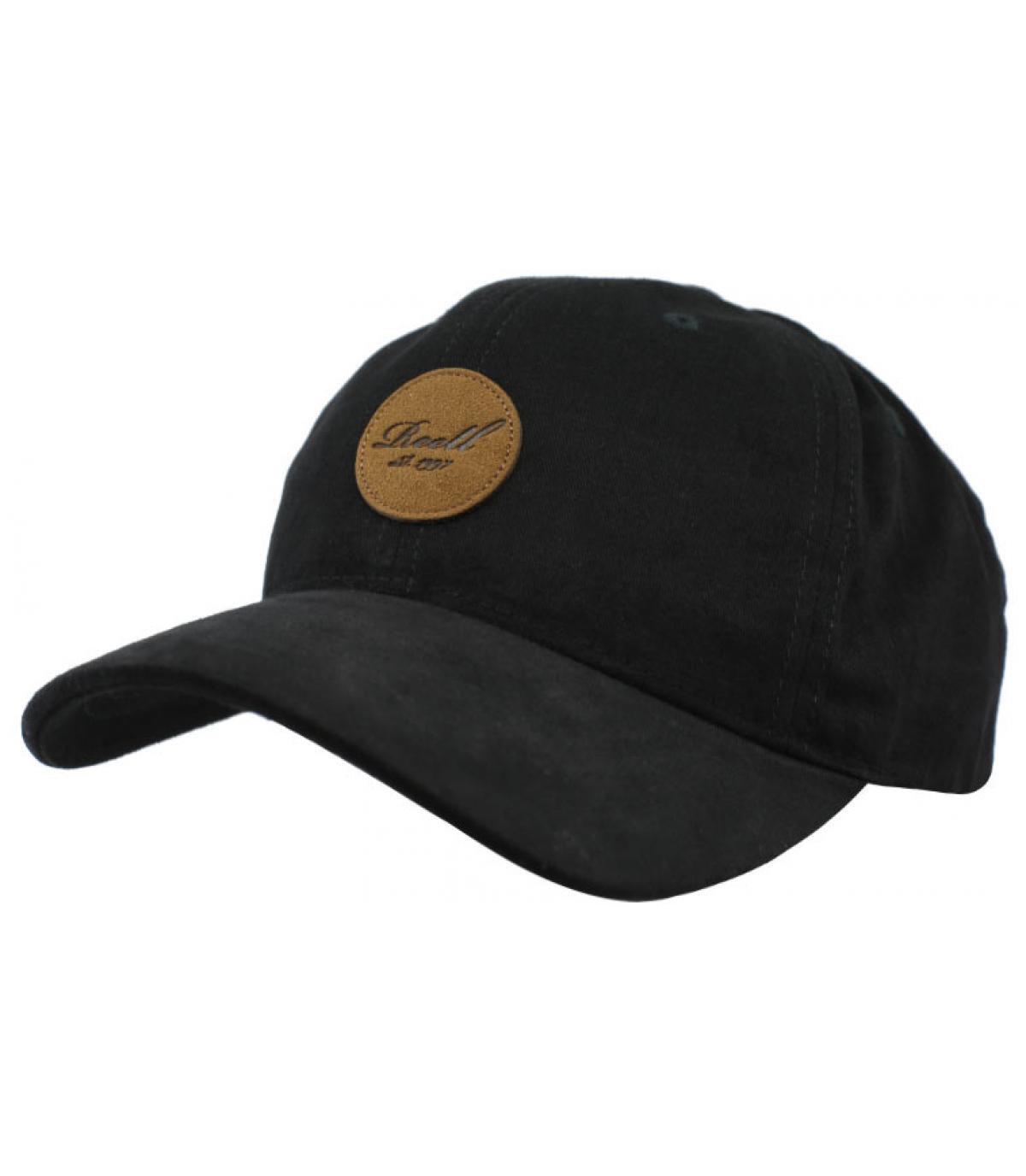 casquette noir Reell