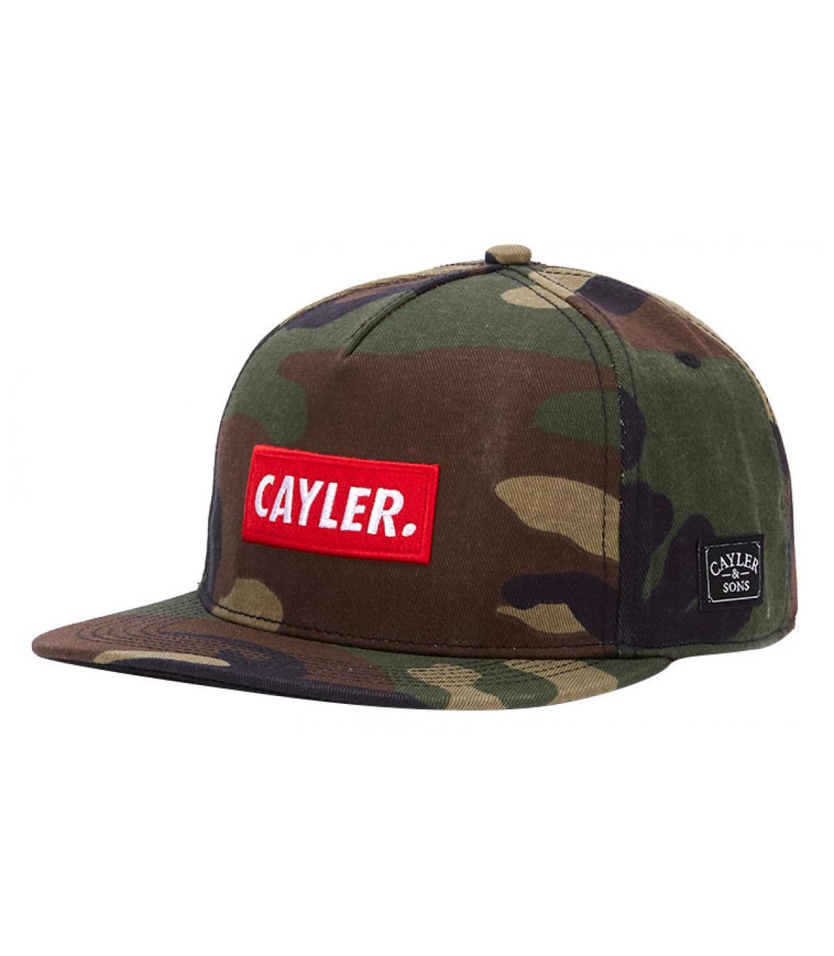 snapback Cayler camo